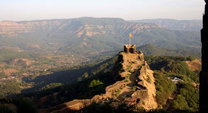 Pratapgad Fort set on the heights of city which is considered to be one of the adventurous places to visit in Mahabaleshwar