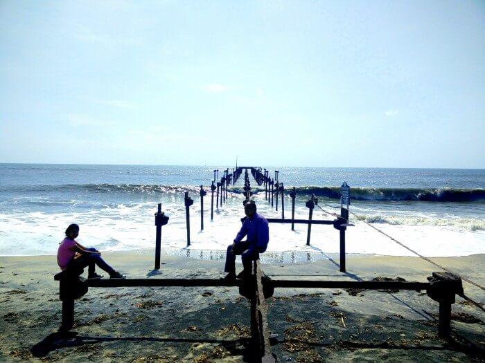Beautiful beach of Kerala
