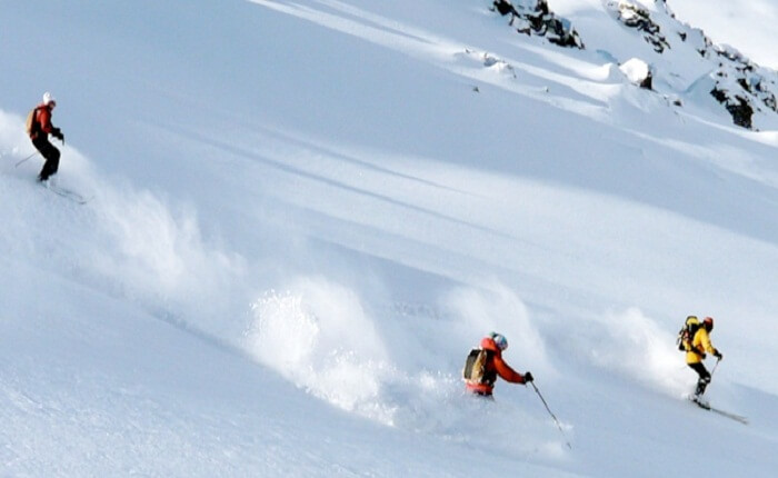 An indicative image of skiing in Phuni Valley