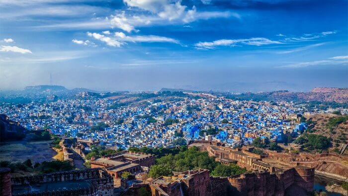 The blue houses of Jodhpur