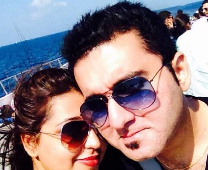 Devansh spending quality time with his beautiful wife