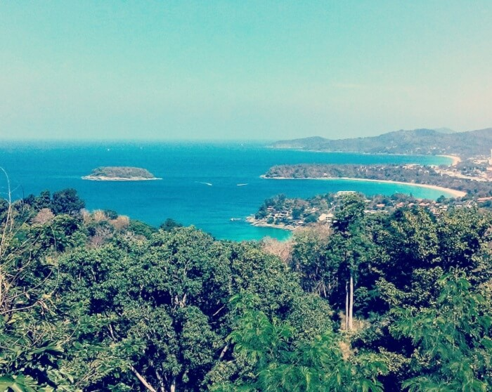 Arriving in the paradisaical land of Phuket