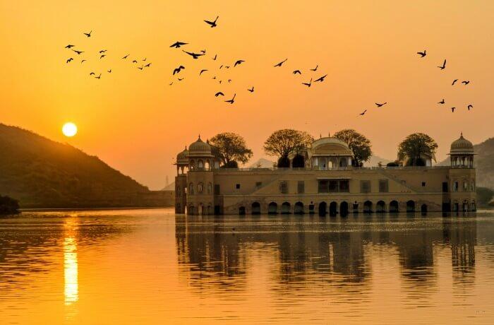 Jal Mahal at sunrise