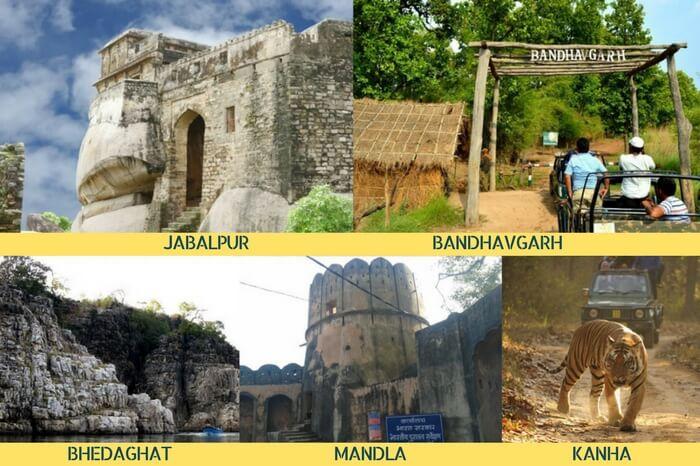 The best MP tour for nature lovers covering Jabalpur – Bhedaghat – Mandla – Kanha – Bandhavgarh
