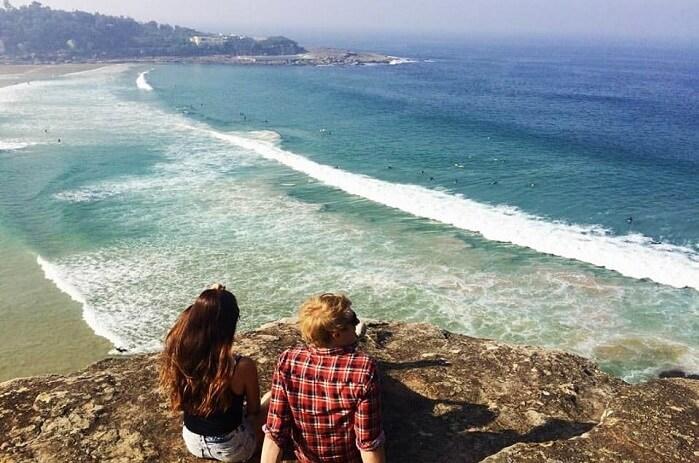Cuople at Romantic Beaches Sydney