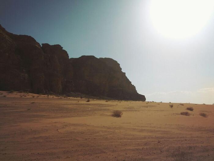 Valley of moon Wadi Rum