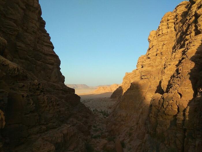Wadi Rum nature