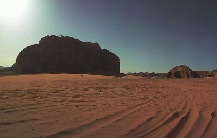 Wadi Rum in Jordan