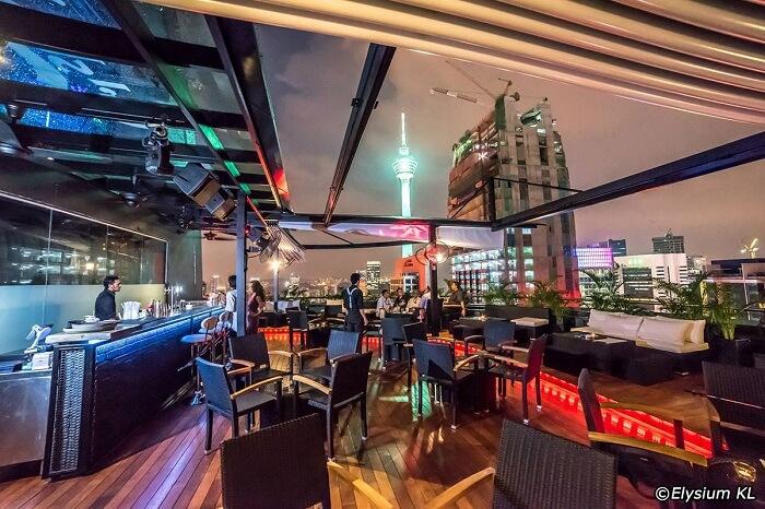 Elysium Bar & Terrace in KL