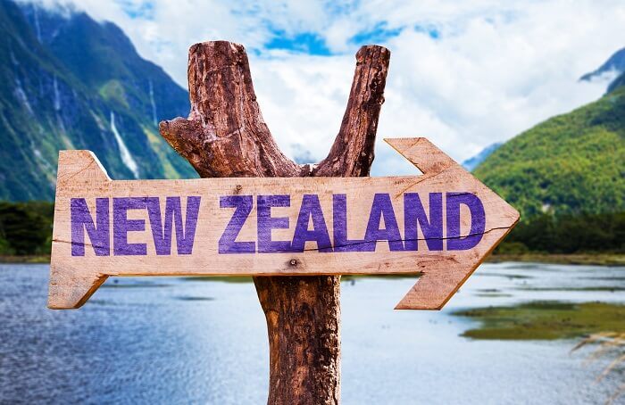 How to reach New Zealand