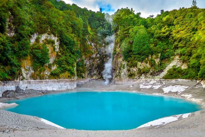 geothermal pools of Rotorua