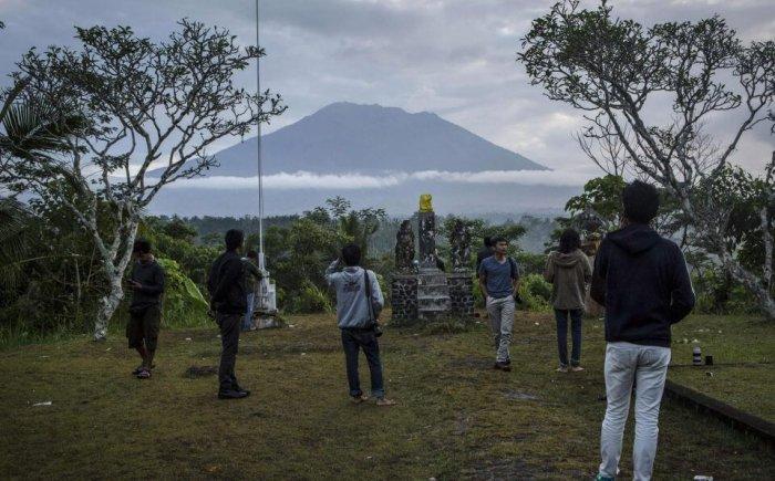 mount agung volcano eruption