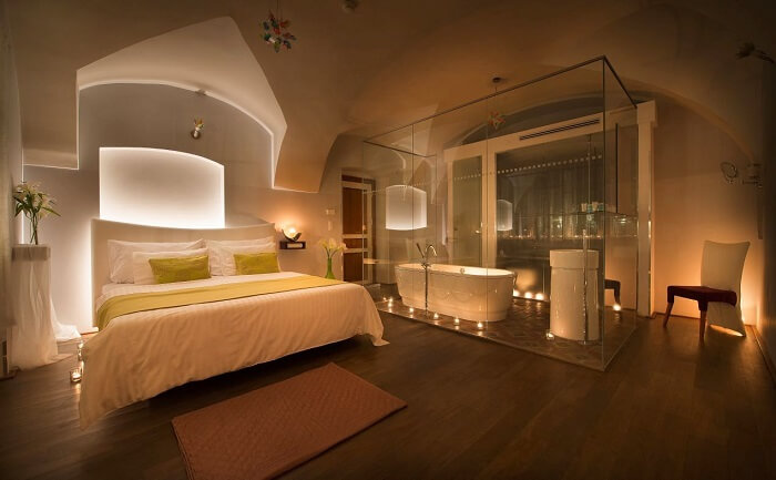 design hotel neruda room