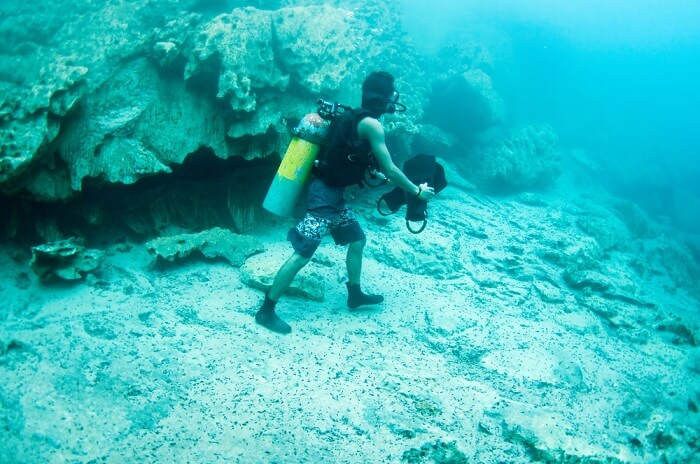 Walk under the sea with your beloved at Kota Kinabalu
