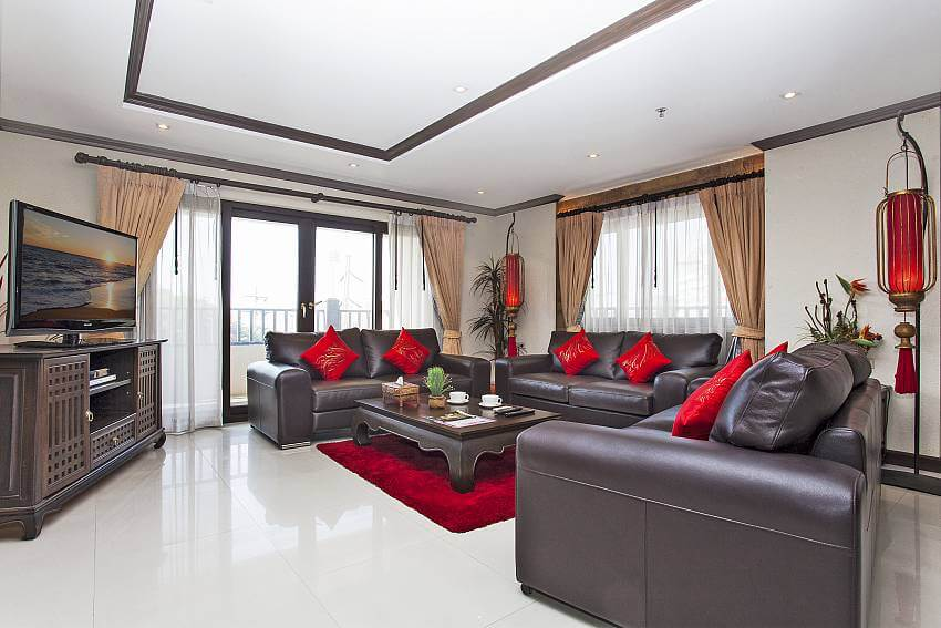 Living room of Nirvana Place