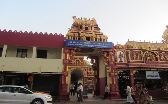 Kateel Shri Durgaparameshwari Temple from outside