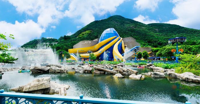 Ocean Park in Hong Kong