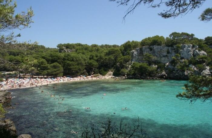 Cala Macarella Beach
