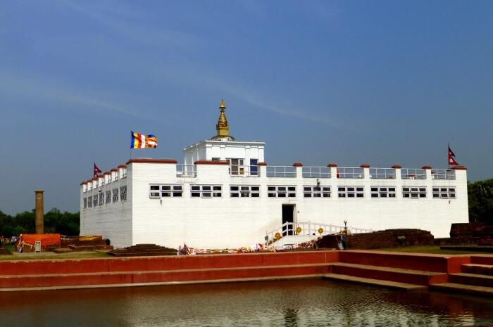 02 Mayadevi Temple from South, Lumbini.