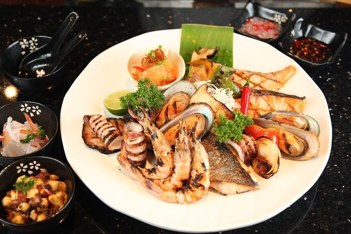 Grill Seafood