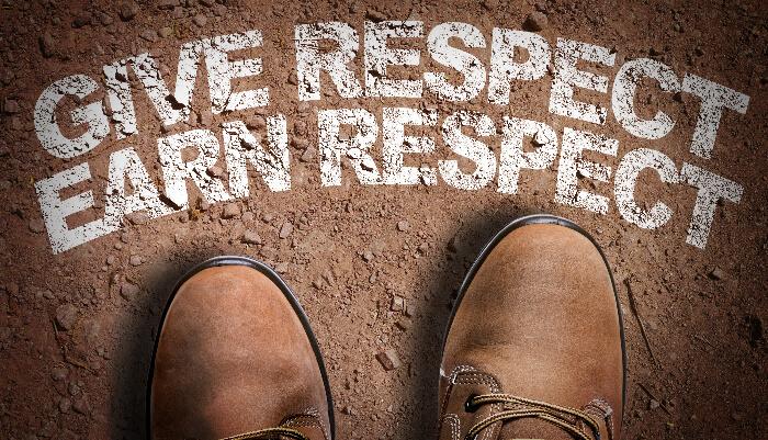 Respect Signboard