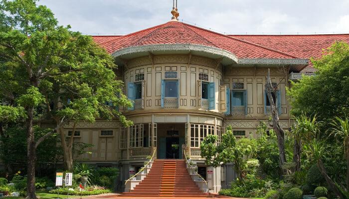 Vimanmek mansion in Bangkok