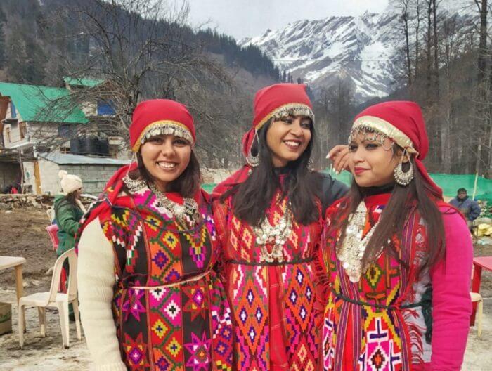 get into the cultural dresses