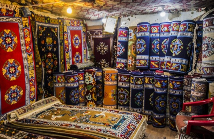 Tibetan Carpets View
