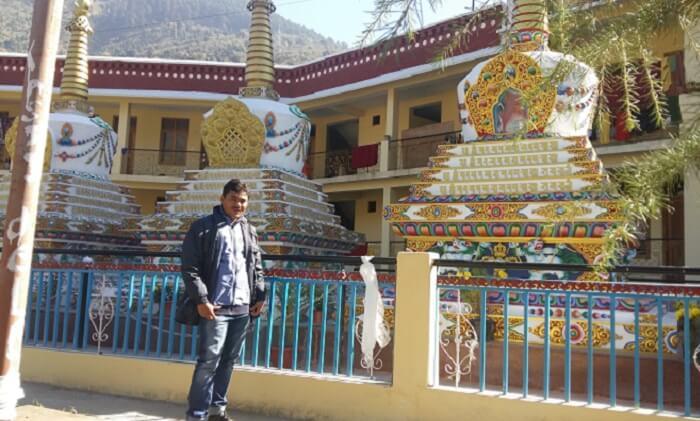 paid a visit to Kali Mata
