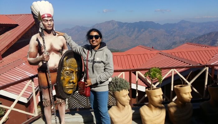 exploring the city Shimla