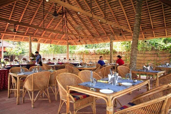 beautiful Cocobay Restaurant located in the Cocobay Resort