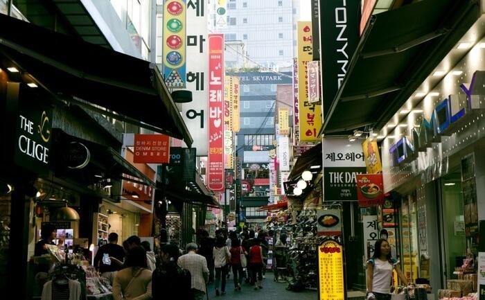 Dongdaemun Night Market View