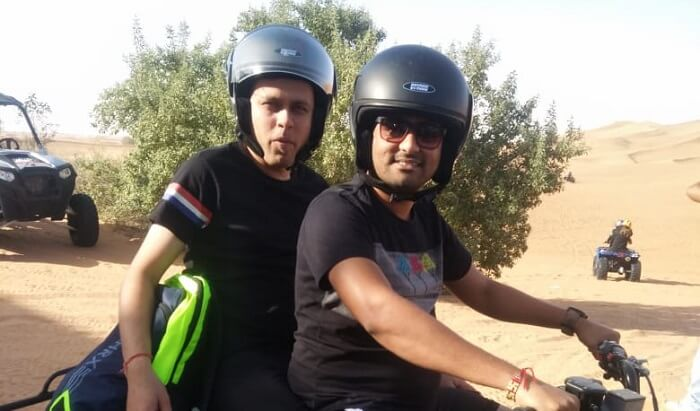 Ride with Friend