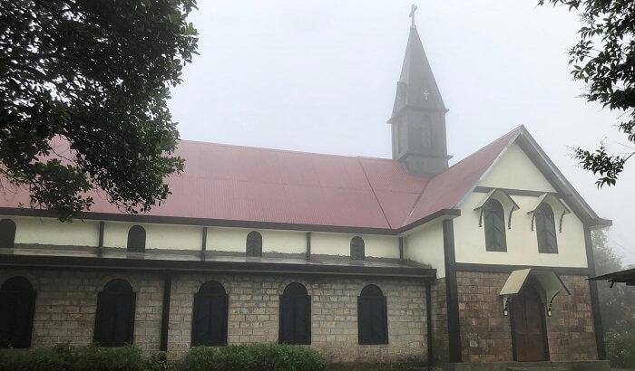 church at Mawlynnog village