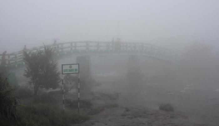 eco park , very misty