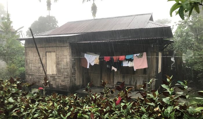 mawlynnong village home