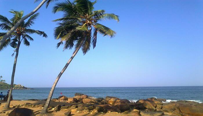 Chowara Beach in Kovalam
