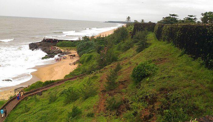 Nellikunnu Beach in Kasargod