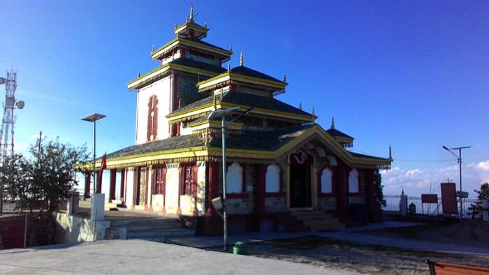 Surkanda Devi Temple in Kanatal