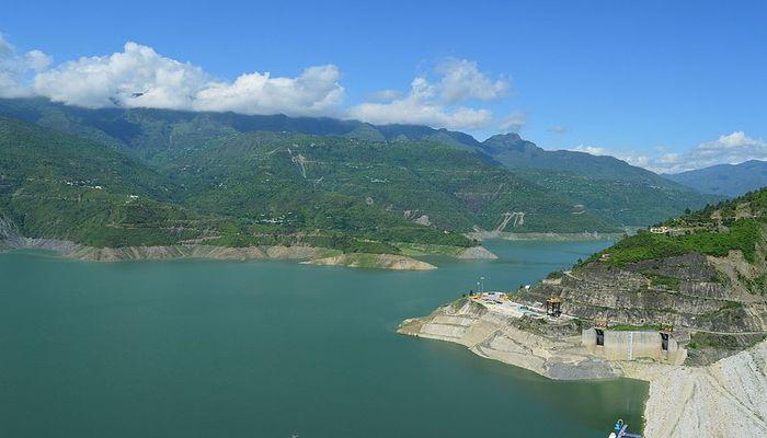 Tehri Dam View