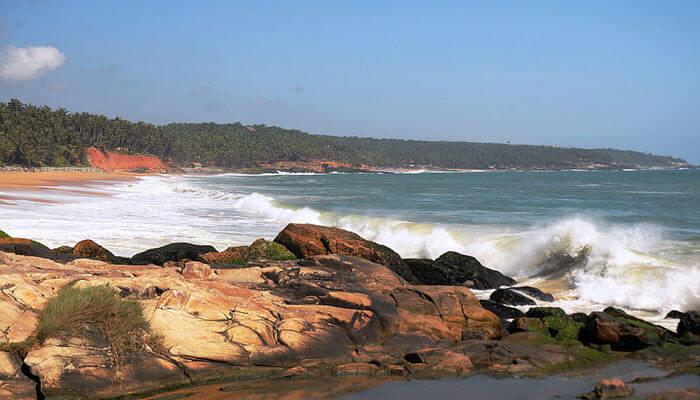 Vizhinjam Beach in Kovalam
