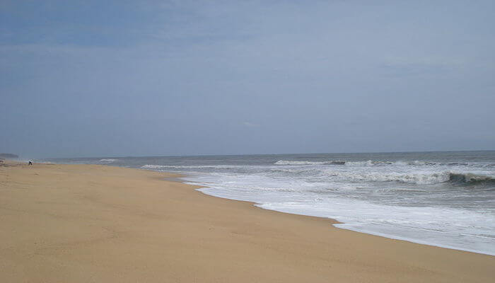 quiet beaches, calm surroundings, cool waters